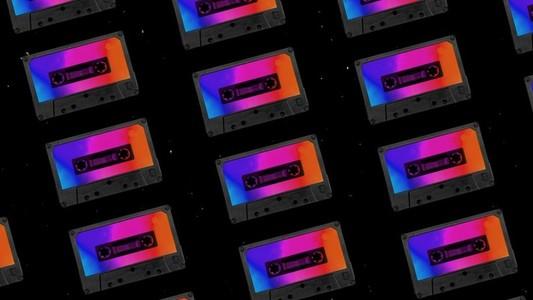 Mix tape casettes