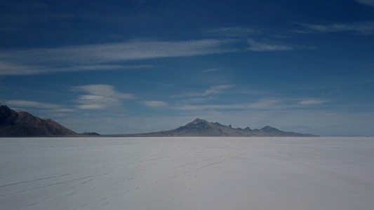 Salt flat flight