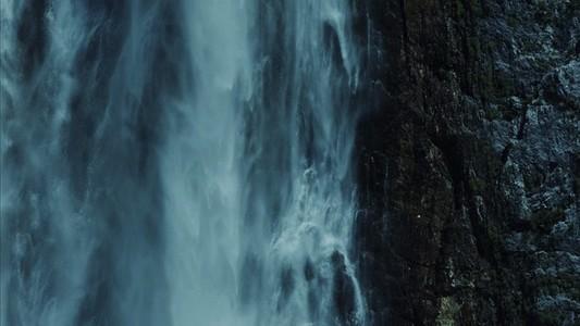 Waterfall side