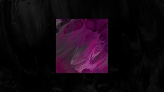 Pink mood square