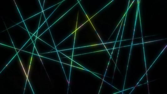 Iridescent lines
