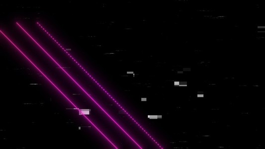 Pink lines and static