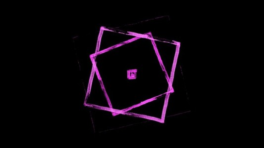 Pulsing squares pink