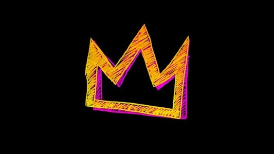 Yellow pink crown