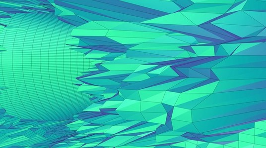 Abstract Landscape Wireframes 12