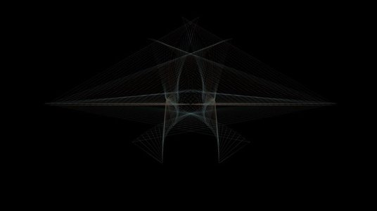 Organic Wireframe Forms 07