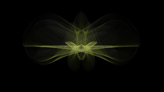 Organic Wireframe Forms 08