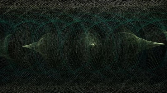 Abstract Organic Wireframe 03