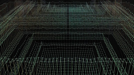 Abstract Linear Wireframe 04