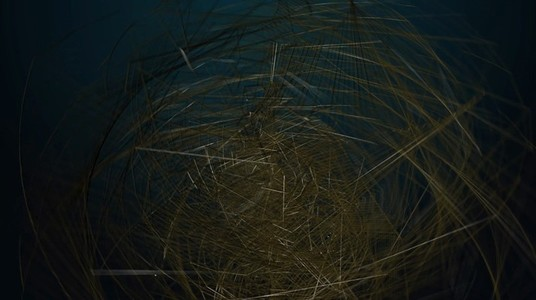 Abstract Organic Wireframe 09
