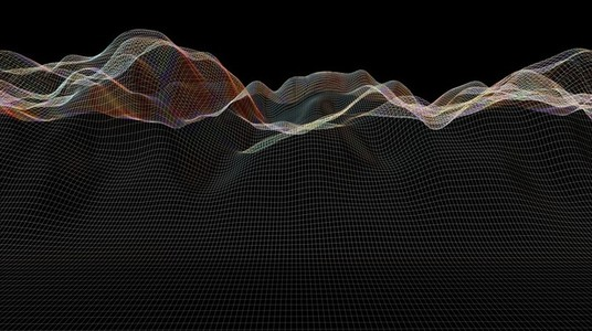 Abstract Landscape Wireframes 14