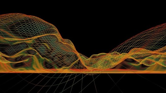 Abstract Landscape Wireframes 15