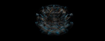 Abstract Organic Wireframe 14