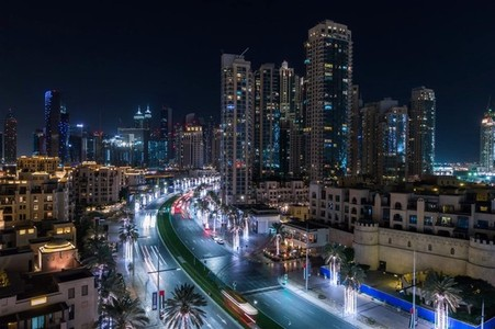 Dubai Traffic Timelapse