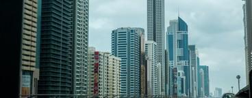 Dubai Metro Timelapse