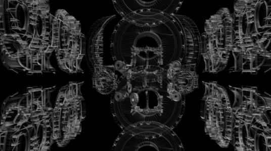 Mechanical Wireframe 05