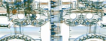 Mechanical Wireframe 07
