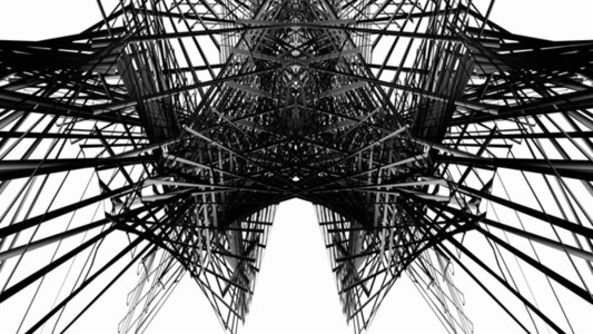 Abstract Linear Wireframe 17