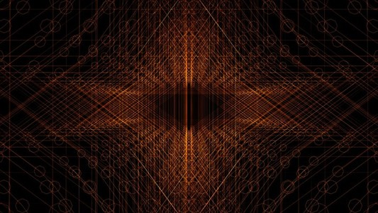 Abstract Linear Wireframe 19