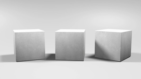 White Cubes 03