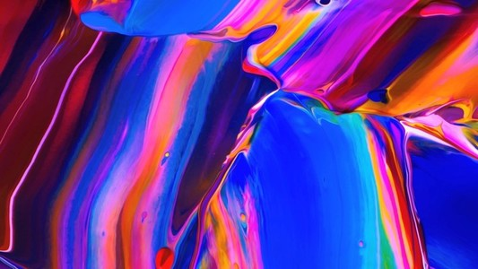 Abstract Paint Movement 02