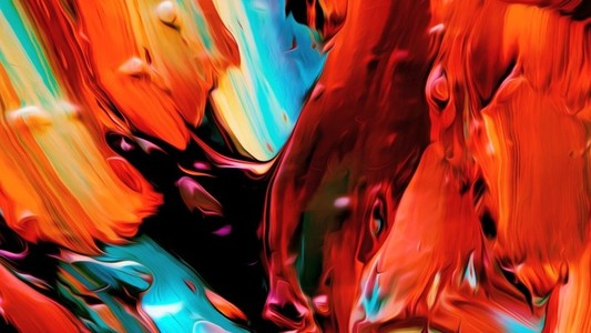Abstract Paint Movement 05