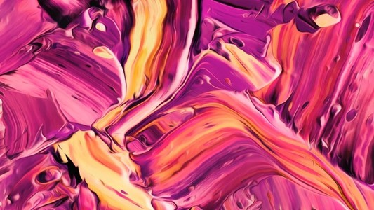 Abstract Paint Movement 07