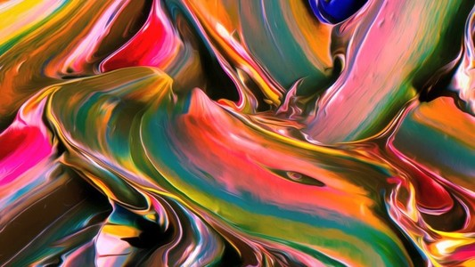 Abstract Paint Movement 08