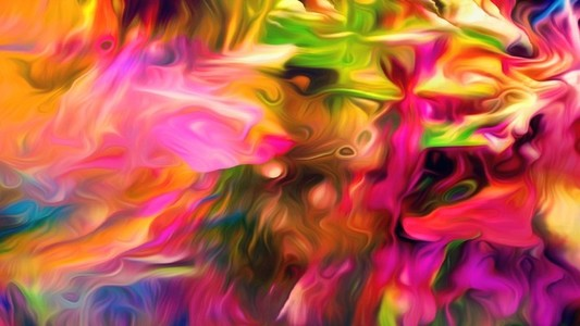 Abstract Paint Movement 10