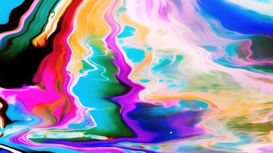 Abstract Paint Movement 14