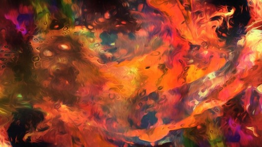Abstract Paint Movement 15
