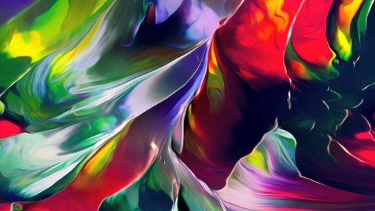 Abstract Paint Movement 23