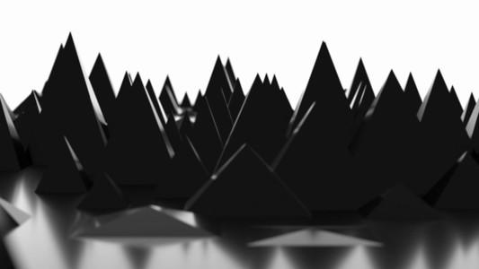 Growing Geometry Pyramid 01