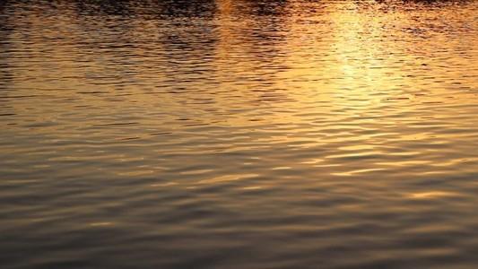 Orange Sky Water   eflection